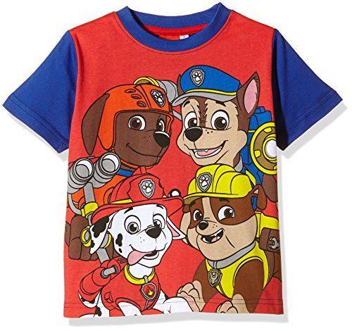 PAW PATROL, Camiseta Manga Corta Patrulla Canina - Camiseta De Manga Corta  de manga corta