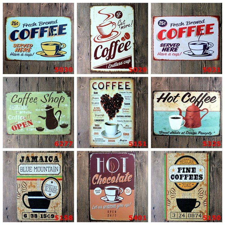 Coffee Is Always A Good Idea Tin Sign 8 X12 Metal Sign Bar Pub Cafe Wall Decor Metal Plaque Vintage Home Coffee Wall Decor Home Wall Decor Vintage Home Decor