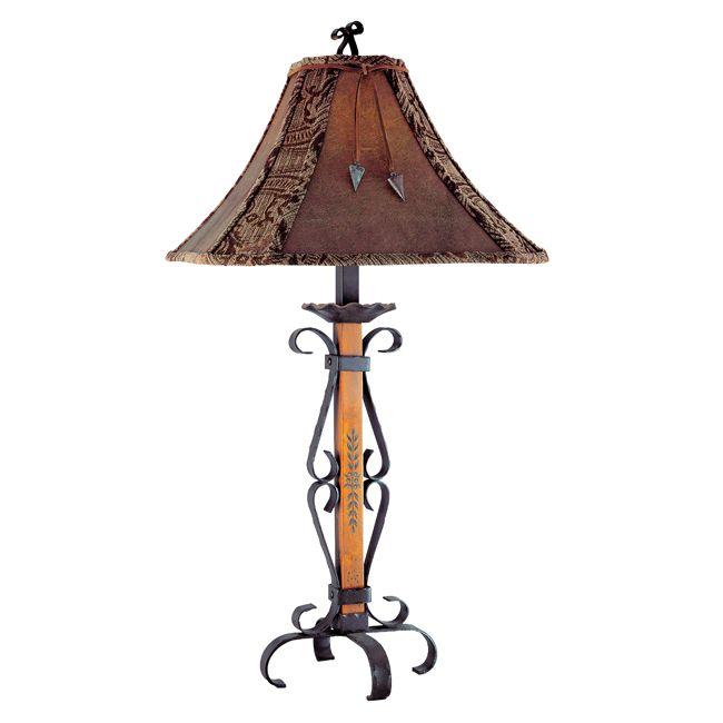 Lone Star Western Decor El Paso Table Lamp 179 95 Western Lamps Table Lamp Lamp
