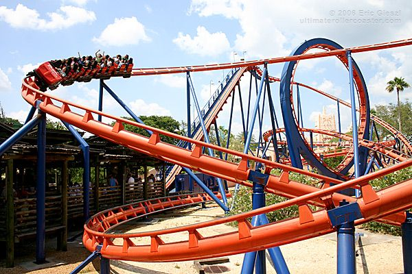 Kylie 39 S First Big Roller Coaster The Scorpion At Busch Gardens She Loved It Florida