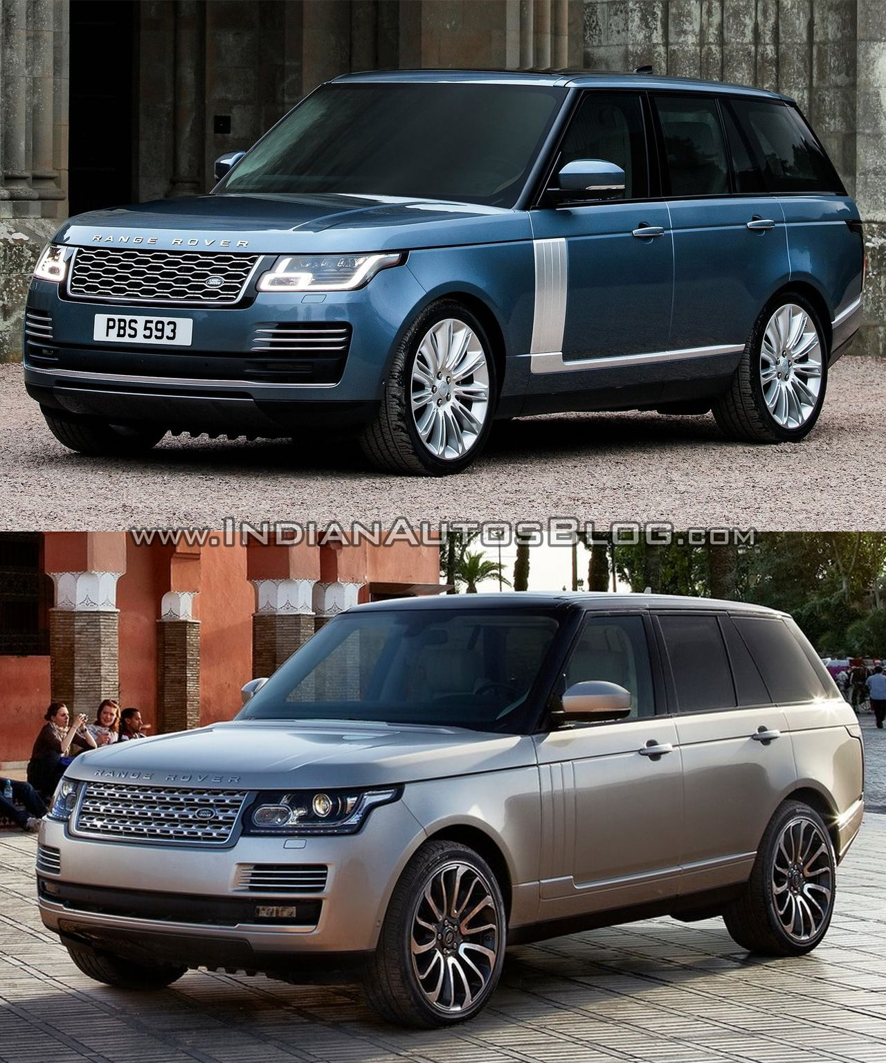 2018 Rangerover Vs 2017 Range Rover Old New