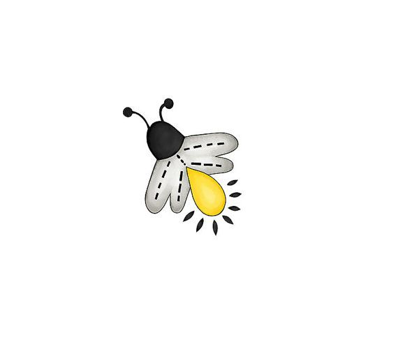 Pin By Etsy On Products Bugs Drawing Firefly Tattoo