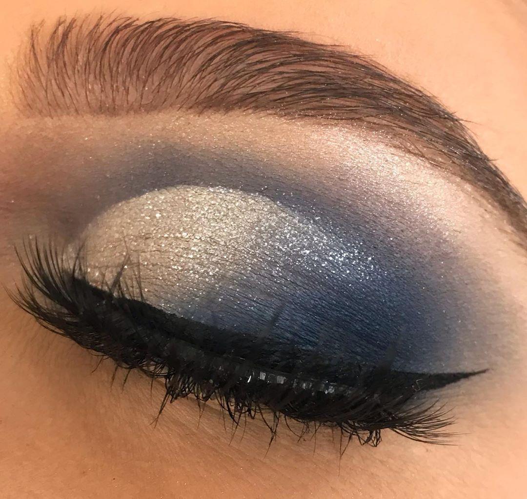 Tutorial maquiagem azul poderosa » Pausa para Feminices