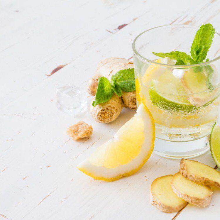 عصير الزنجبيل بالليمون مطبخ سيدتي Recipe Lemon Recipes Ginger Drink Recipe Ginger Drink