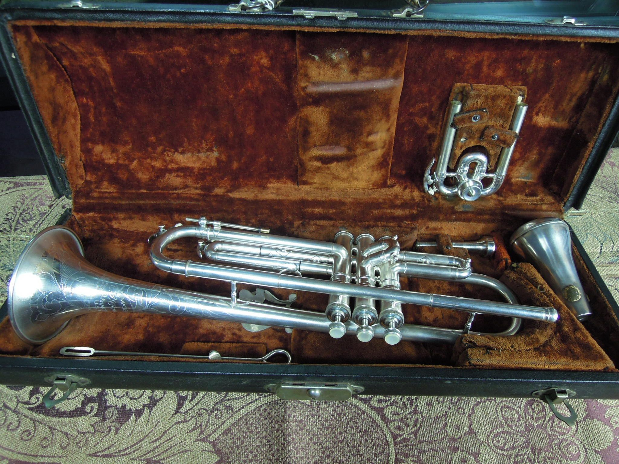 Conn 22B Silver Trumpet 1926 New York Symphony early model