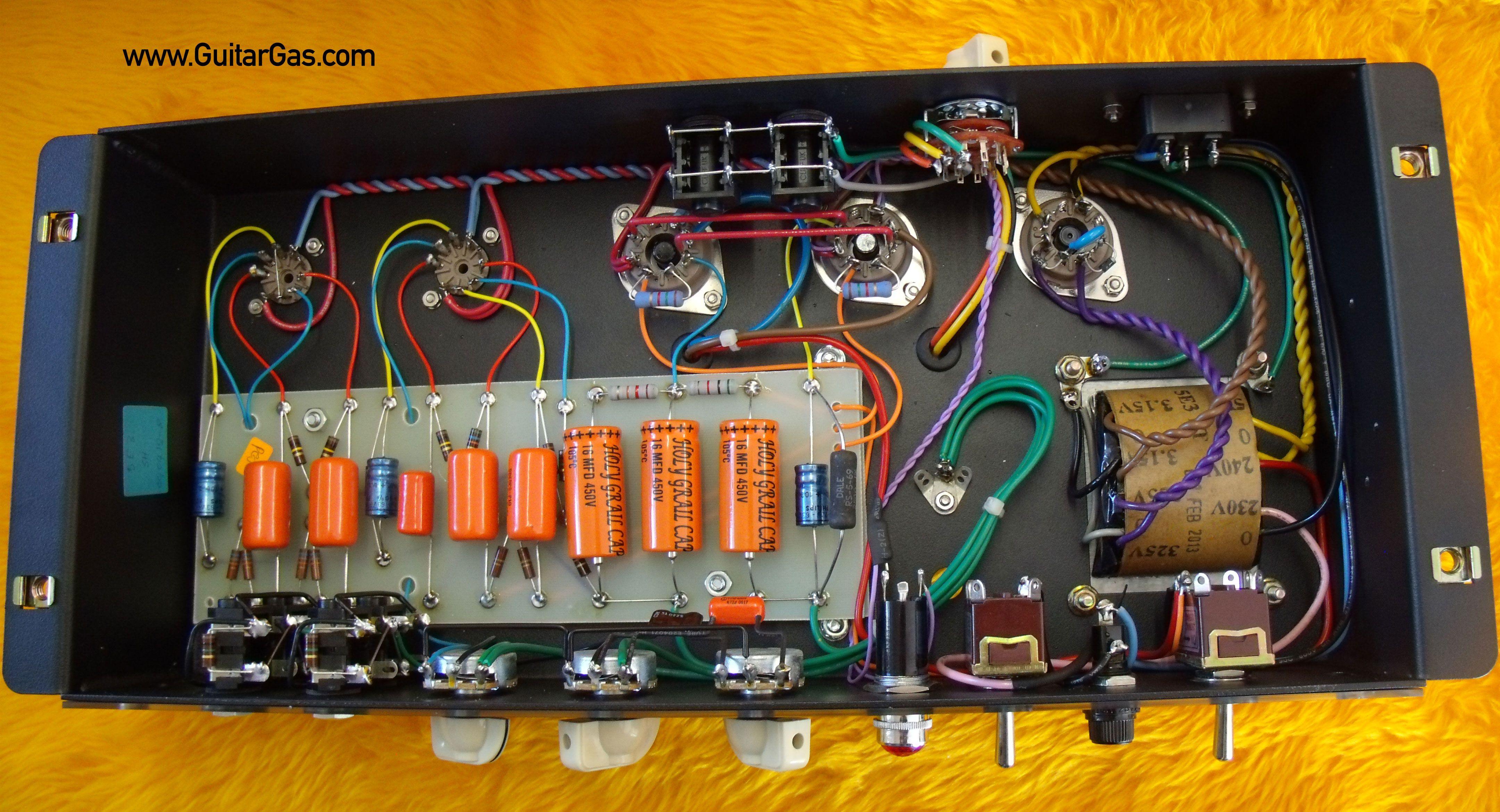 ceriatone 5e3 tweed deluxe circuit [ 4320 x 2339 Pixel ]
