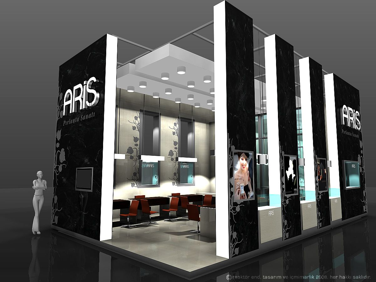 Exhibition Display Stands : Creative point of purchase displays and exhibition booths