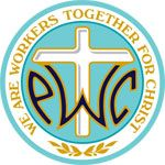 When you get to a new place, be sure to look for PWOC ~ Protestant Women of the Chapel.  Ladies meet once a week to connect, encourage, worship and have Bible study.      PWOC Logo