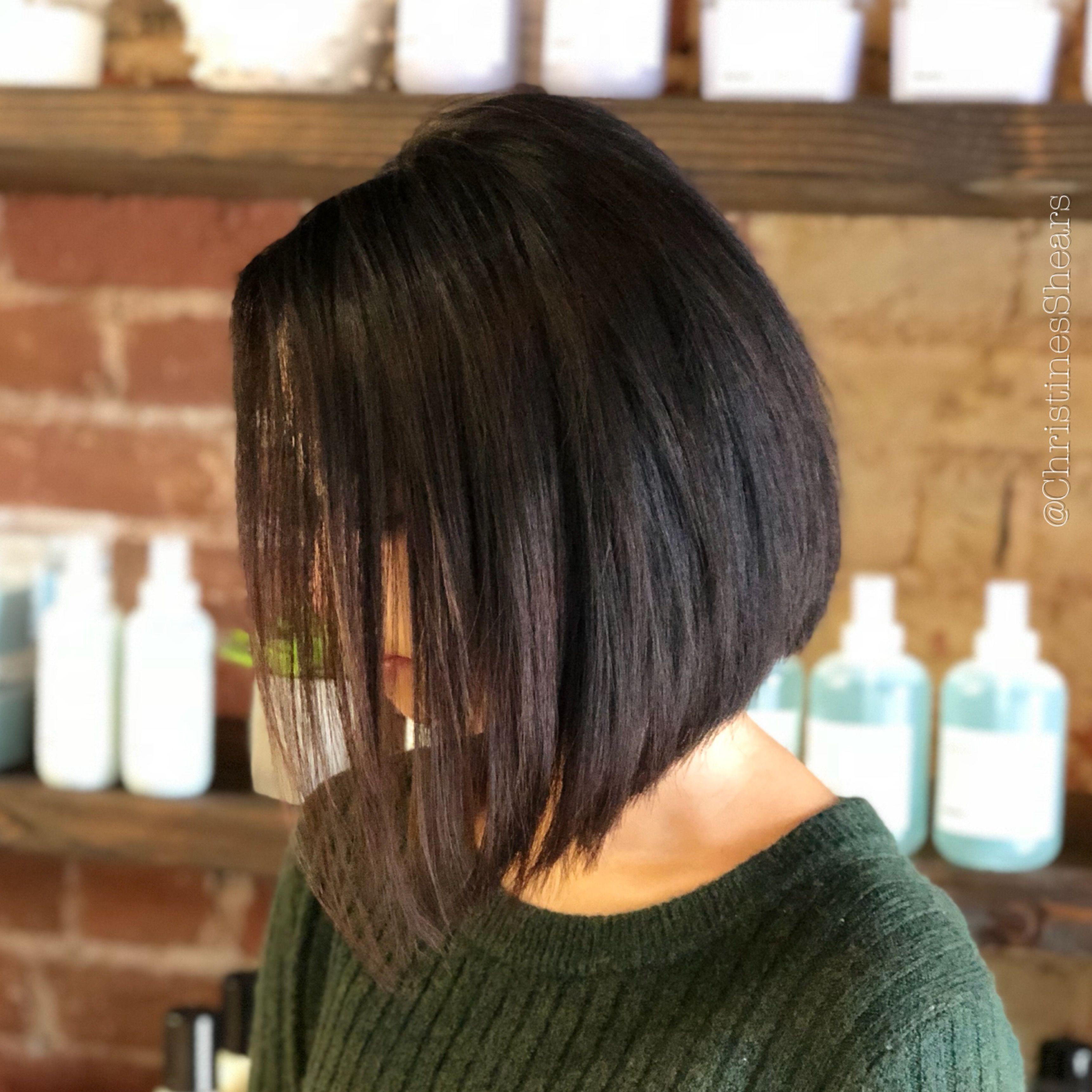 Straight Aline Hair ChristinesShears