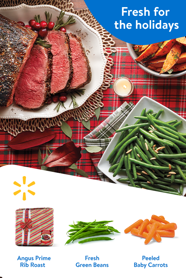 count on walmart to get tasty ingredients for fresh christmas meals make fresh your centerpiece