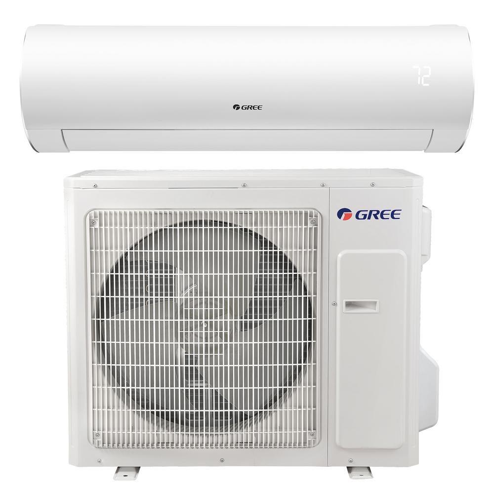 Sapphire 22 000 Btu 2 Ton Ductless Mini Split Air Conditioner With Inverter Heat Remote 20 Ductless Mini Split Ductless Air Conditioner With Heater