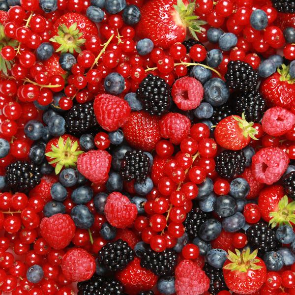 Las frutas del bosque son las mas sabosas!
