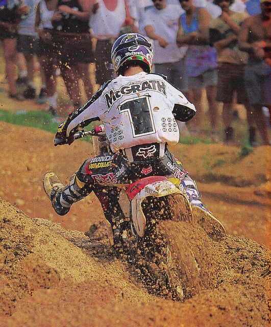 1996 Budds Creek Jeremy McGrath The king of #moto | Motocross ...