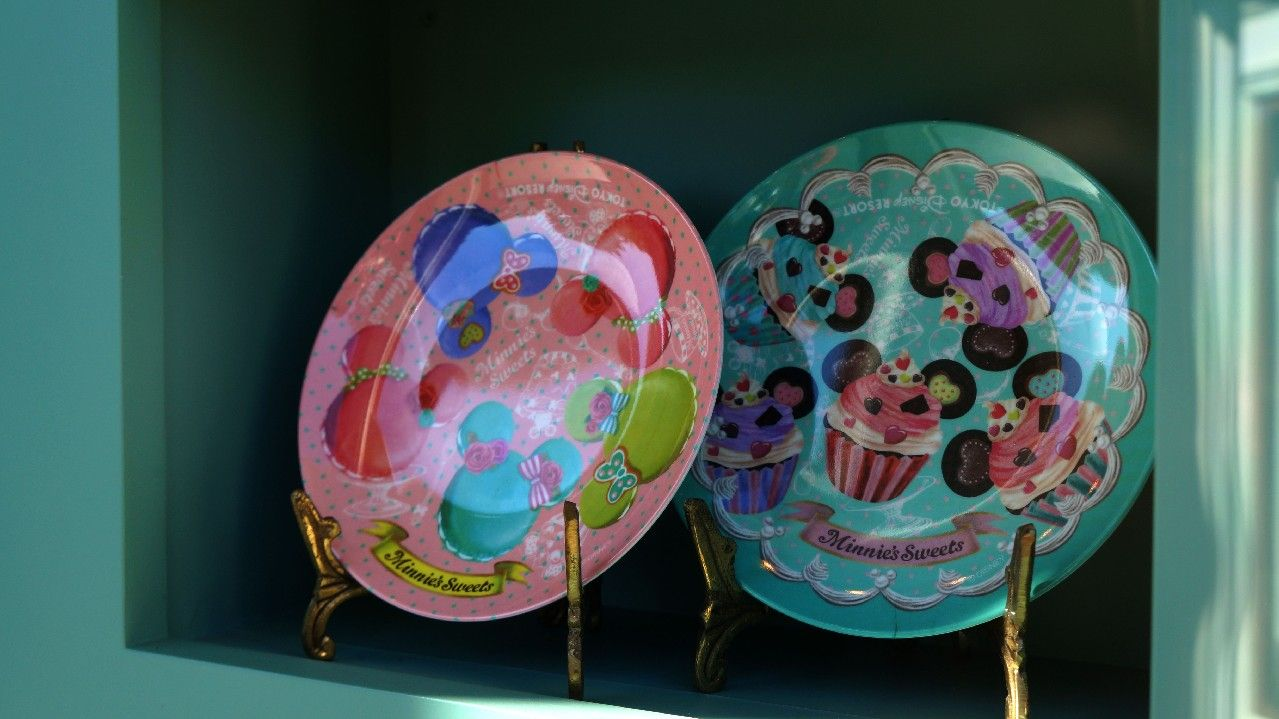 Plates from Tokyo Disney