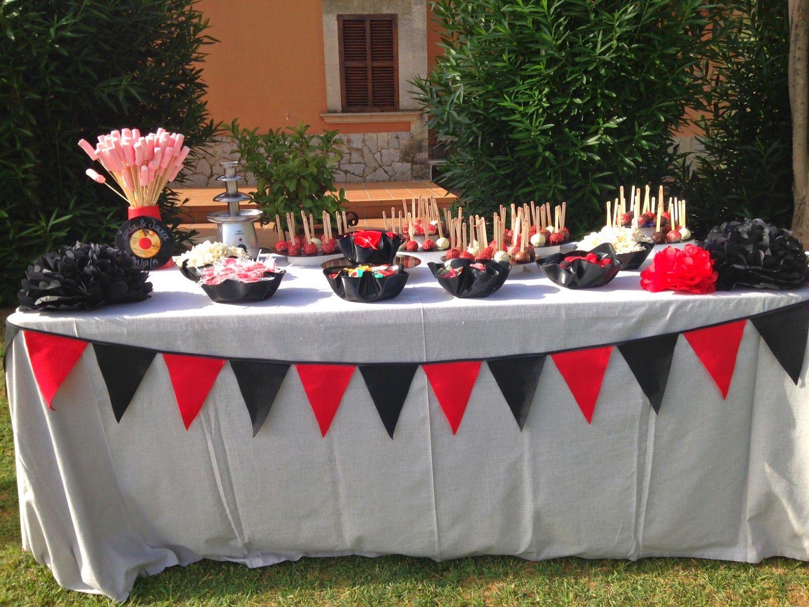 Amart Palma: La mesa dulce de la boda rockera de Lucía&Javier