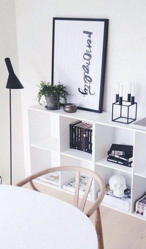 75 Cool IKEA Kallax Shelf Hacks ComfyDwelling #PinoftheDay - ikea regale kallax einrichtungsideen