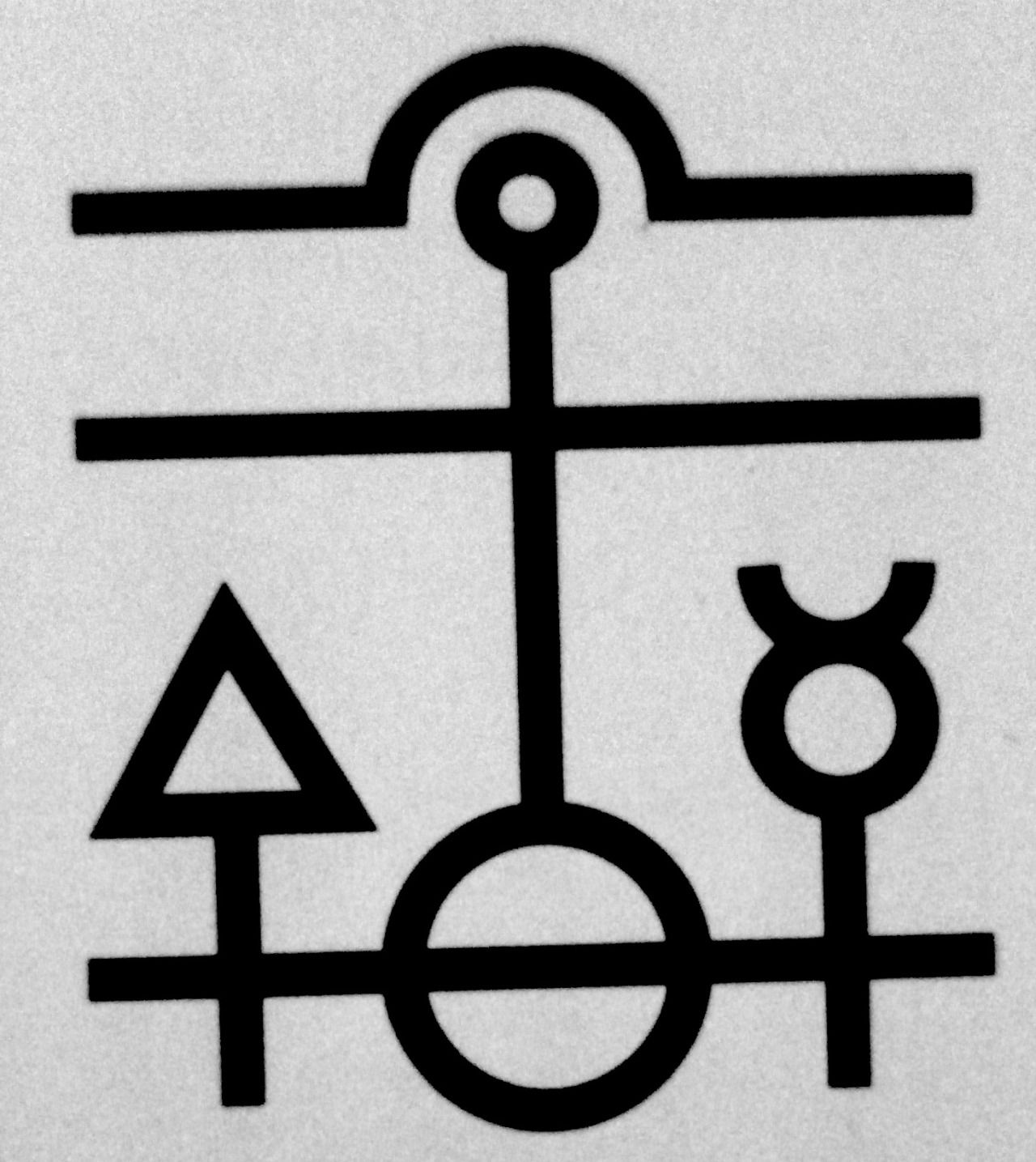 Alchemical formula for the philosophers stone drawing tattoo biocorpaavc Images