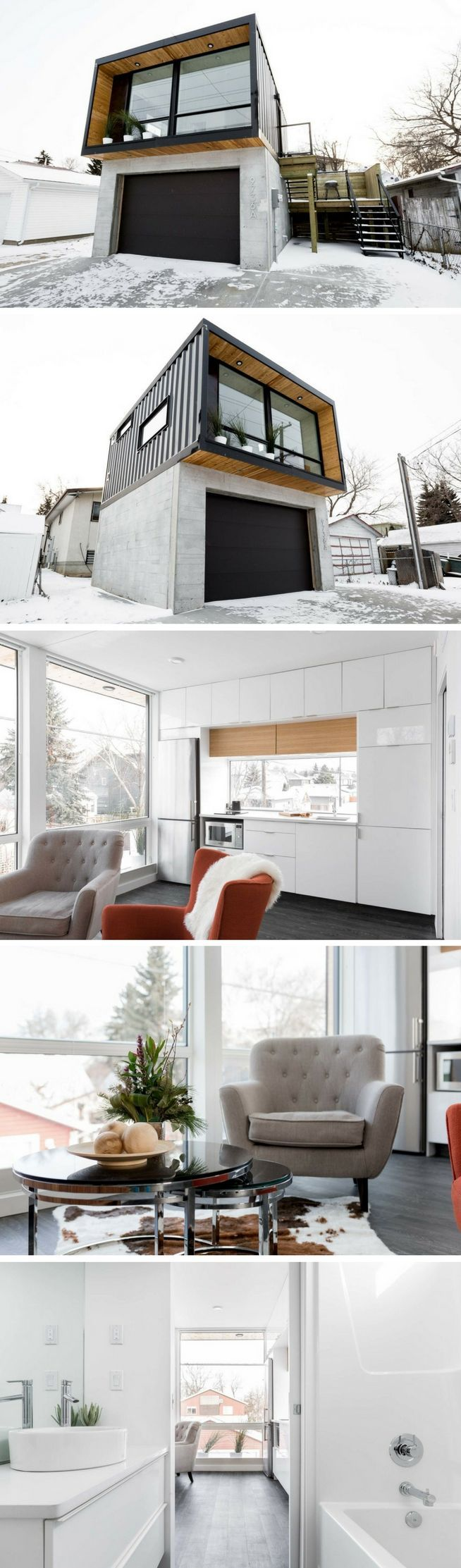 HO2 Tiny Shipping Container House | Homespiration | Pinterest ...