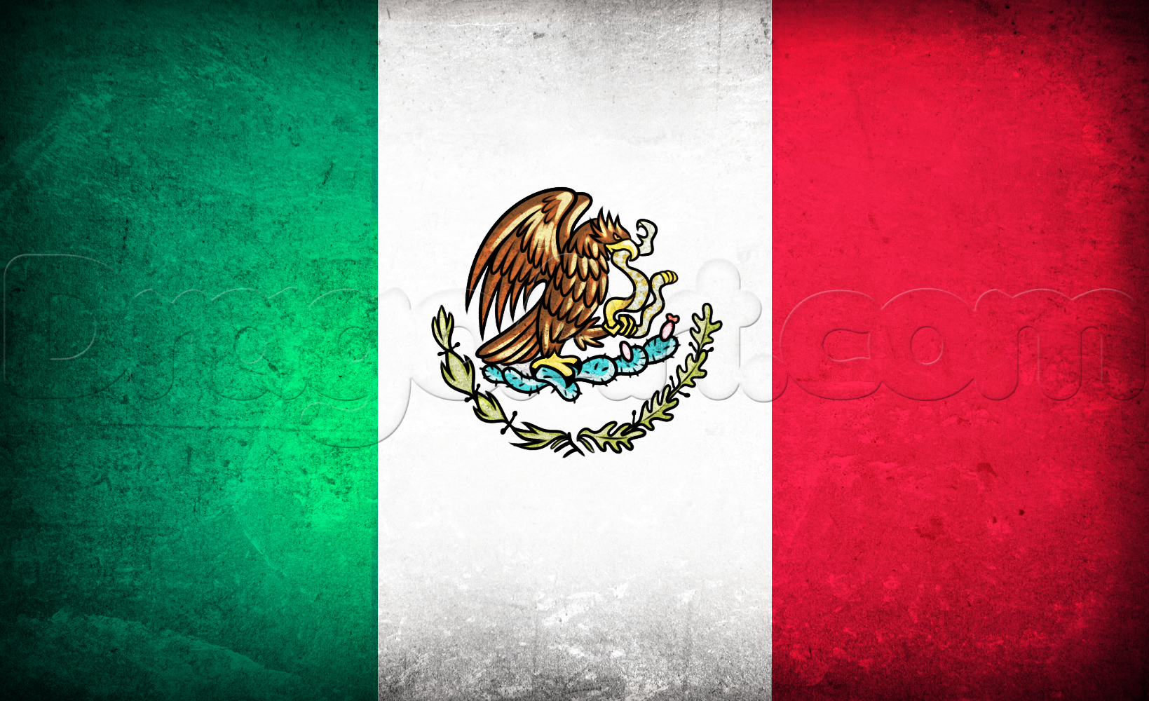 Mexico Flag HD Wallpaper, Background Image