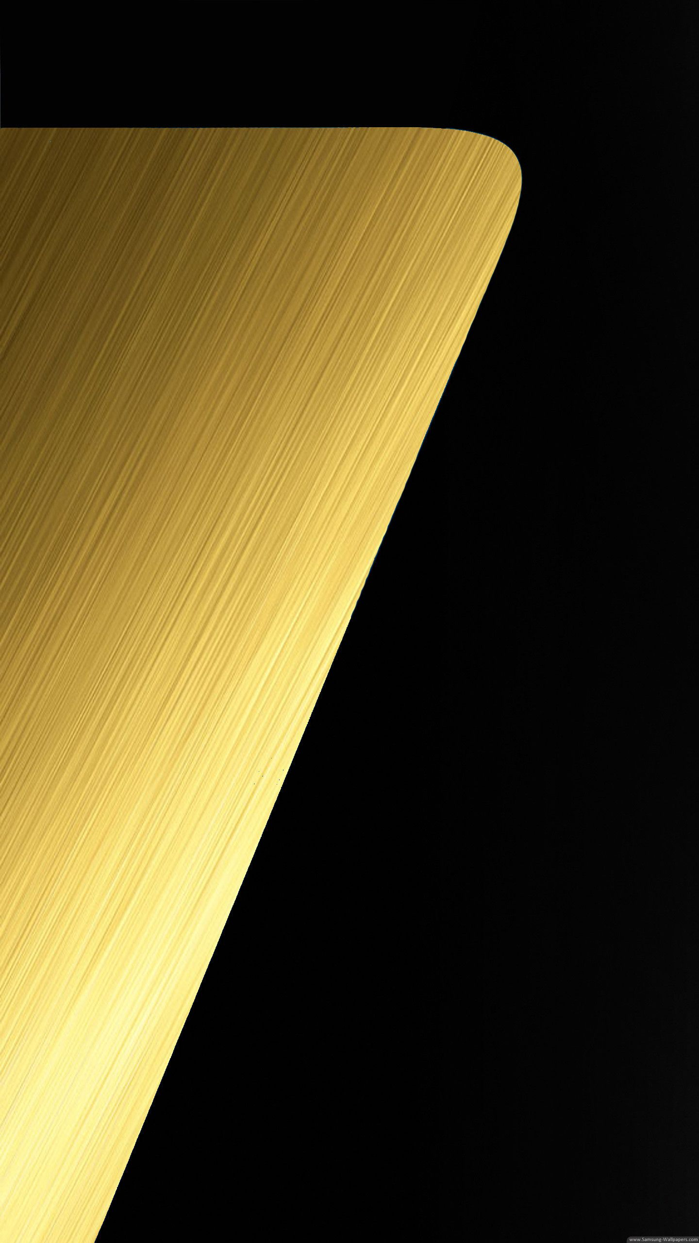 Gold Samsung Galaxy S7 Edge Wallpaper