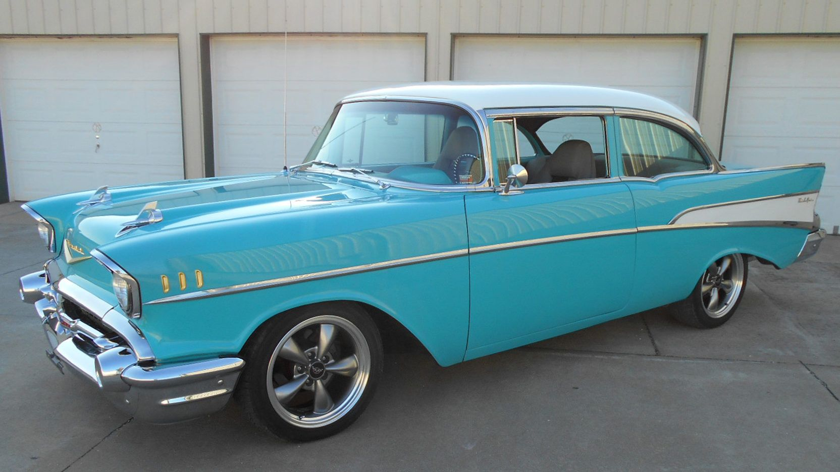 1957 Chevrolet Bel Air presented as Lot S64 at Kansas City, MO ...