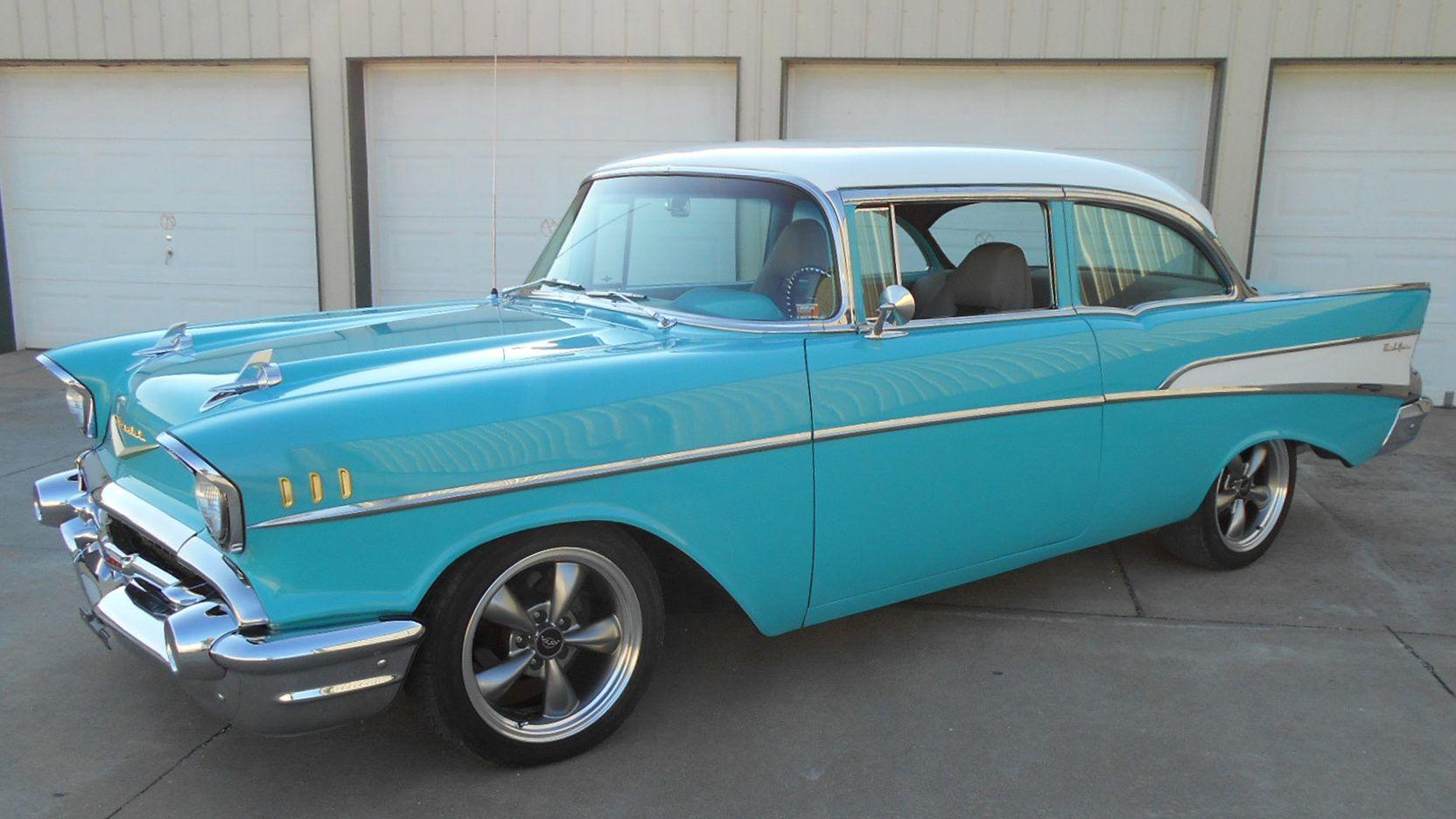 1957 Chevrolet Bel Air presented as Lot S64 at Kansas City, MO ...
