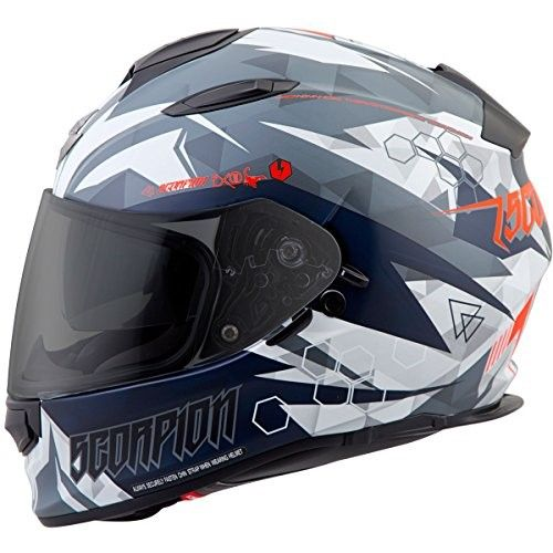 f7febebe Scorpion EXO-T510 Cipher Full-Face Helmet White/Black 2XL | Products ...