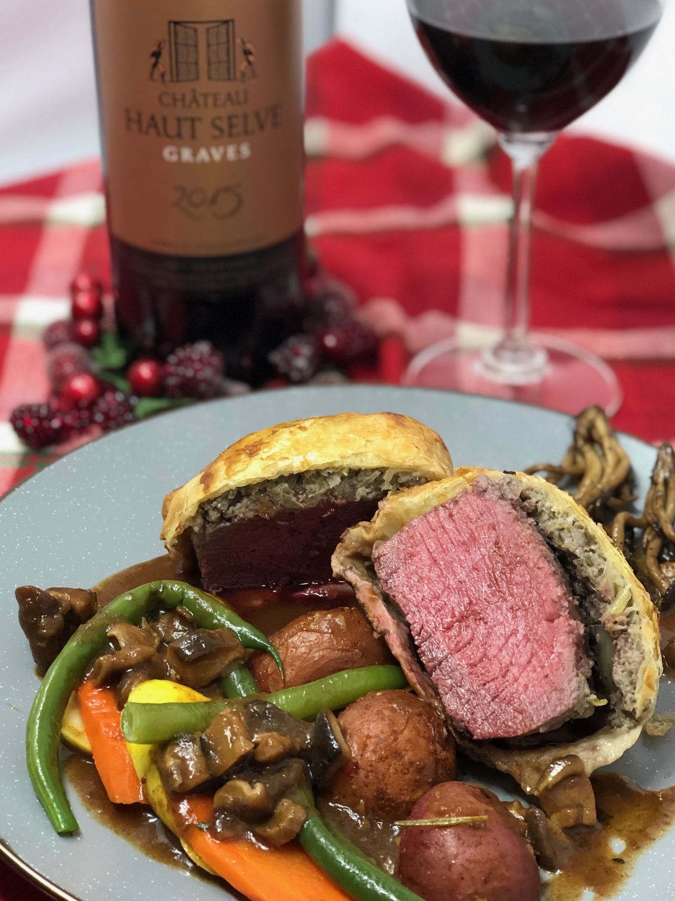 A Taste Of French Inspired Holiday Food And Wine Winophiles Wine Recipes Holiday Recipes Food