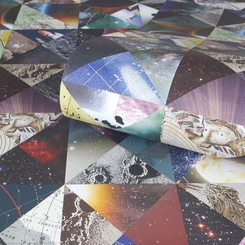Space Luxury Wrapping Paper
