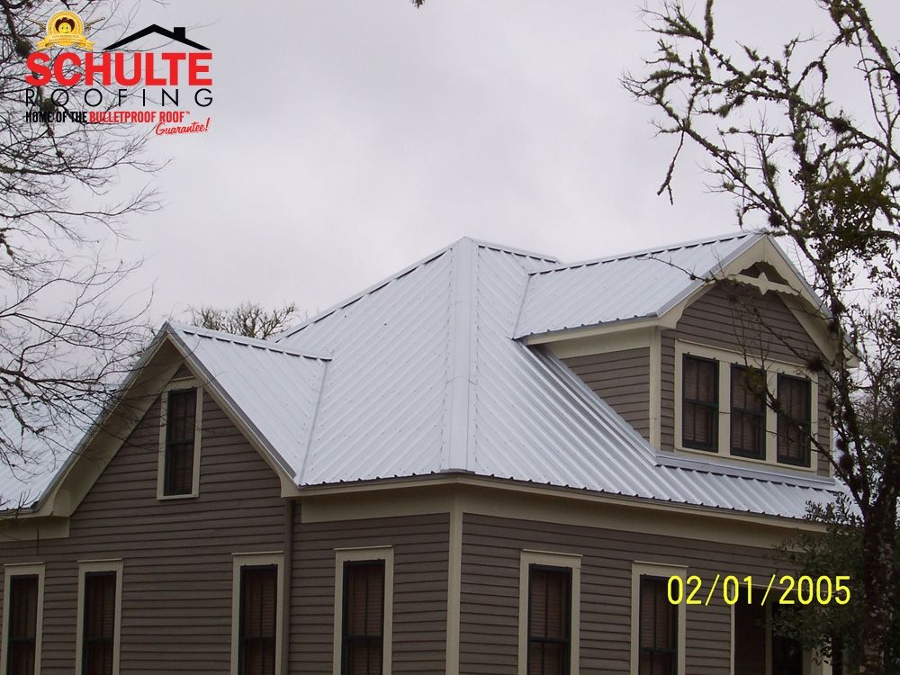 Exposed Fastener R Panel Schulte Roofing R Panel Roofing Metal Roof