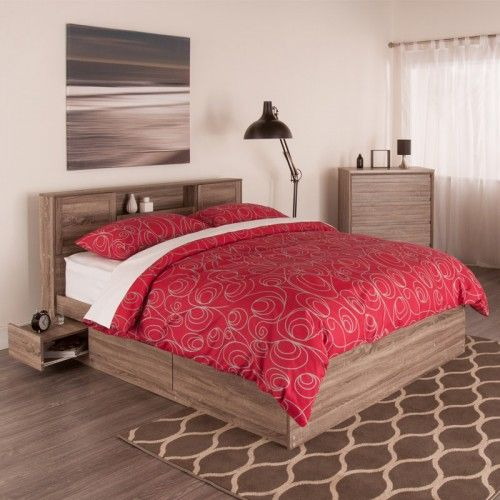 Base de Lit avec Rangement RUTI (Grand Lit) | Home - Bedroom | Pinterest