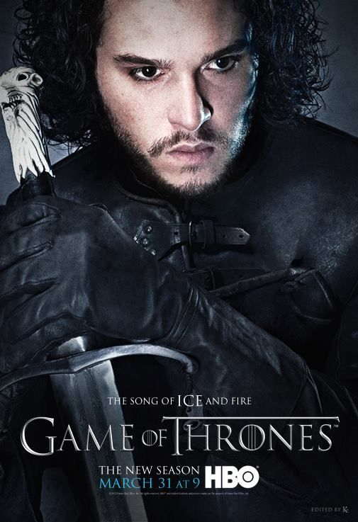Game Of Thrones Filmbook Game Of Thrones Poster Jon Snow Hbo