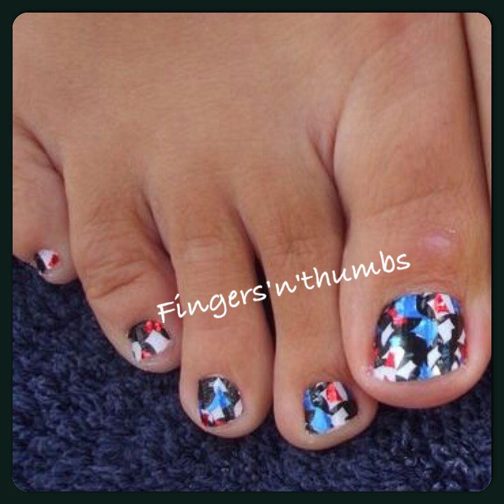 Minx summer confetti on toes #nails #minx #toes   misc   Pinterest ...