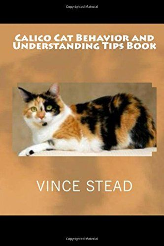 calico cat behavior and understanding tips book by vince