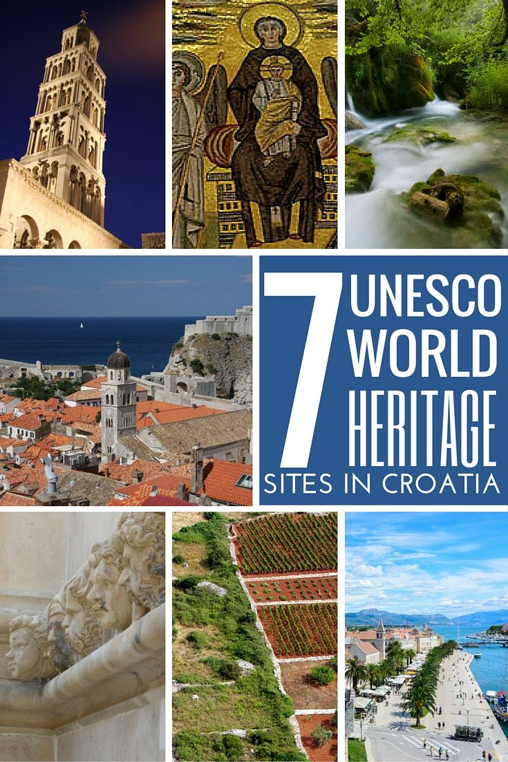 Unesco World Heritage Sites In Croatia Croatia Travel Guide Croatia Travel Guide Croatia Croatia Travel