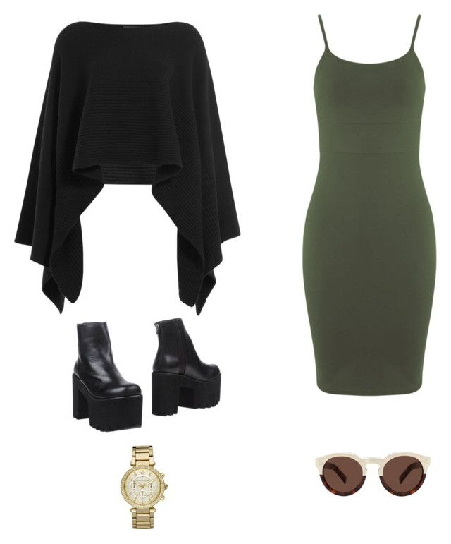 """""""Untitled #77"""" by anwoutfits ❤ liked on Polyvore featuring Miss Selfridge, Donna Karan, Windsor Smith, Michael Kors, Illesteva, women's clothing, women, female, woman and misses"""