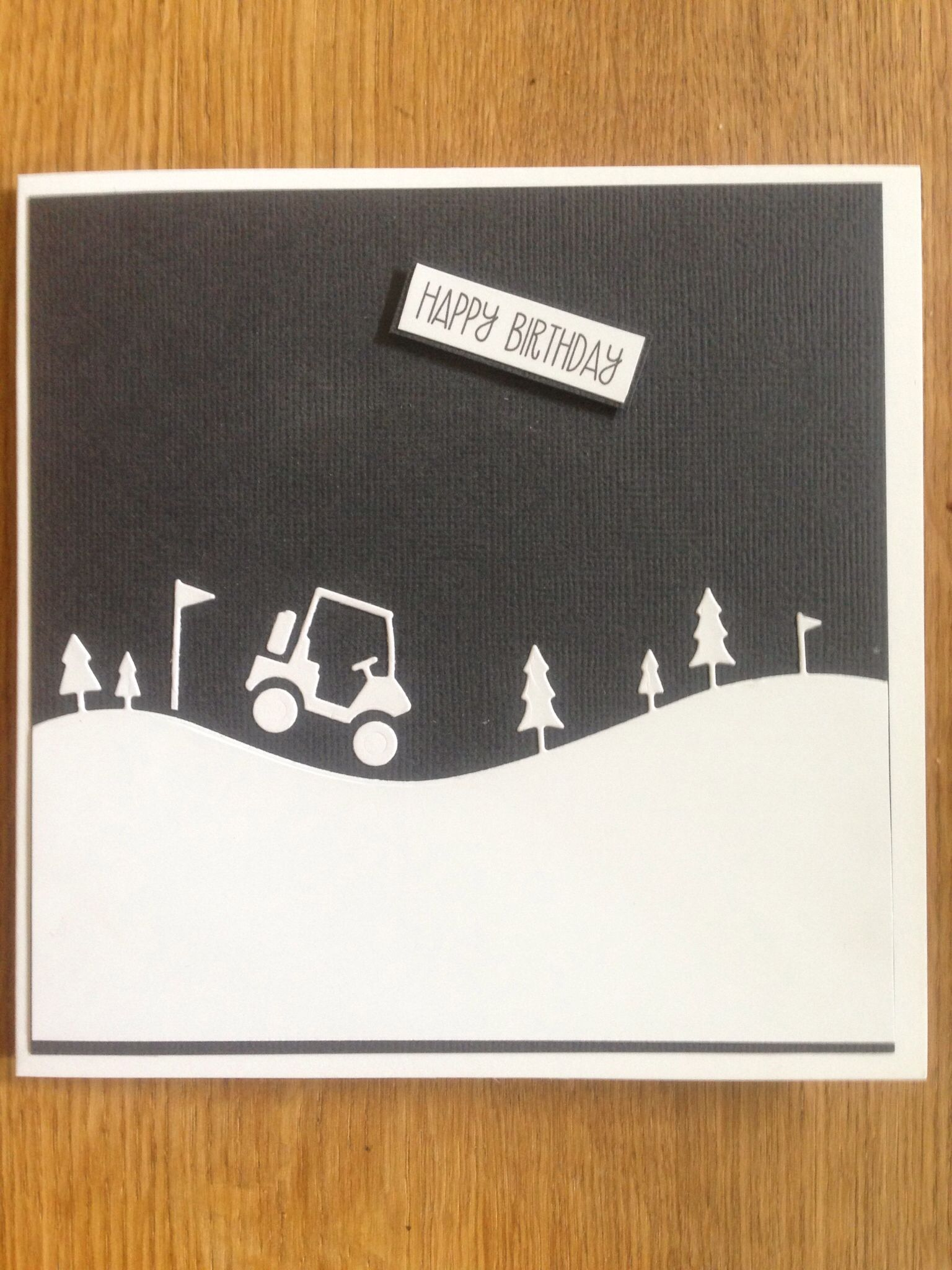 Man Card For Golf Enthusiasts Handmade Cards Pinterest Man Card