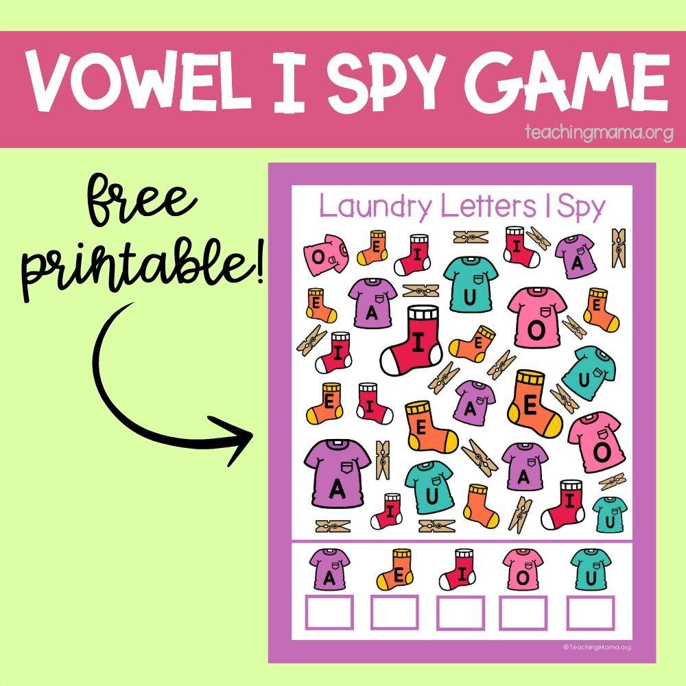 Laundry Letters I Spy Printables Letter I I Spy I Spy Games [ 1000 x 1000 Pixel ]