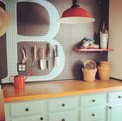 Garage Makeover Ideas #craftroommakeovers