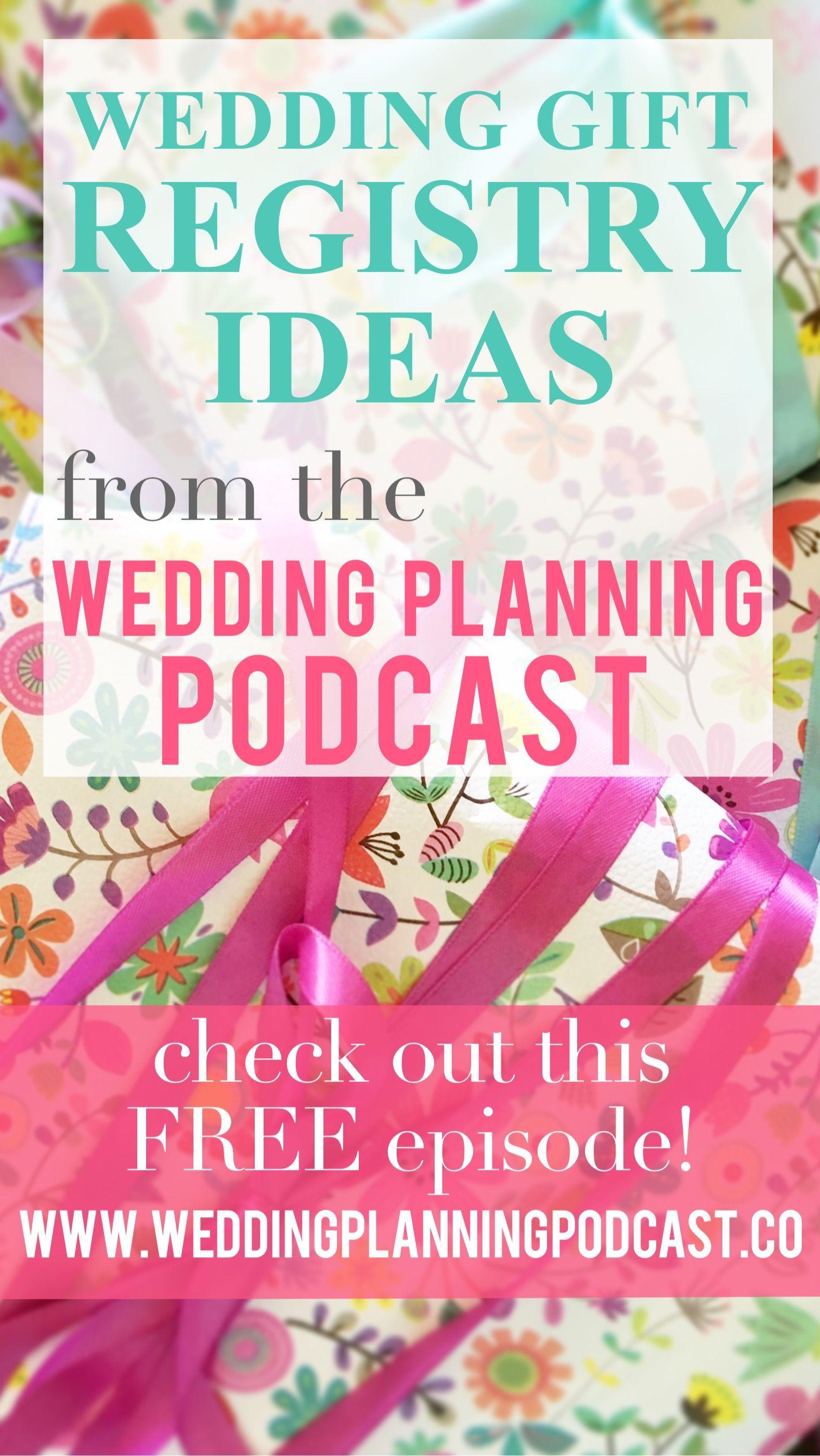 Building a Useful Wedding Gift Registry Wedding gift