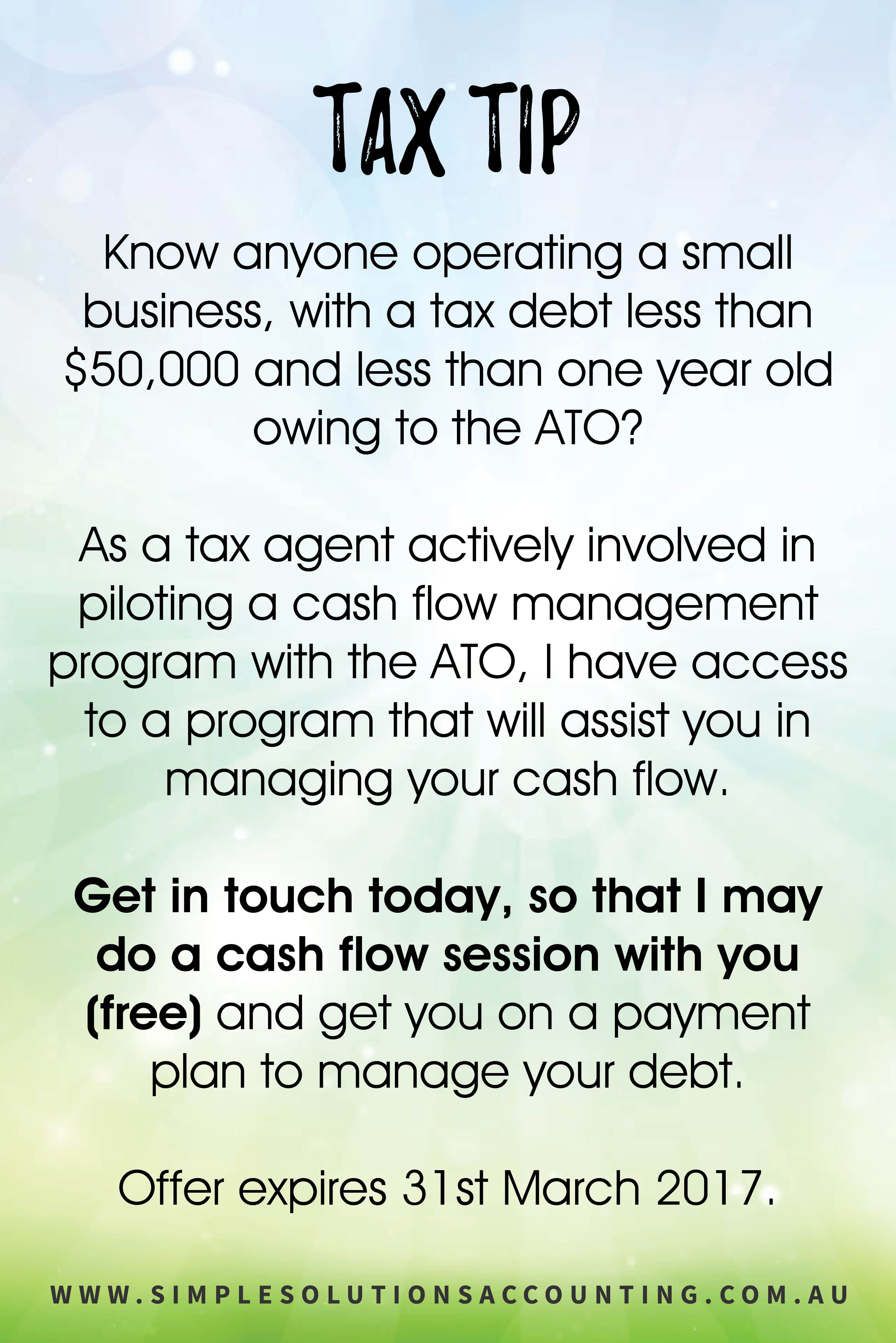 Contact me today for your free cashflow session gillian