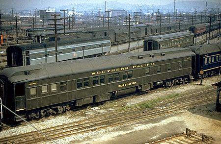 SP #8260   Pullman 8-1-2 sleeper.  Built 1929;