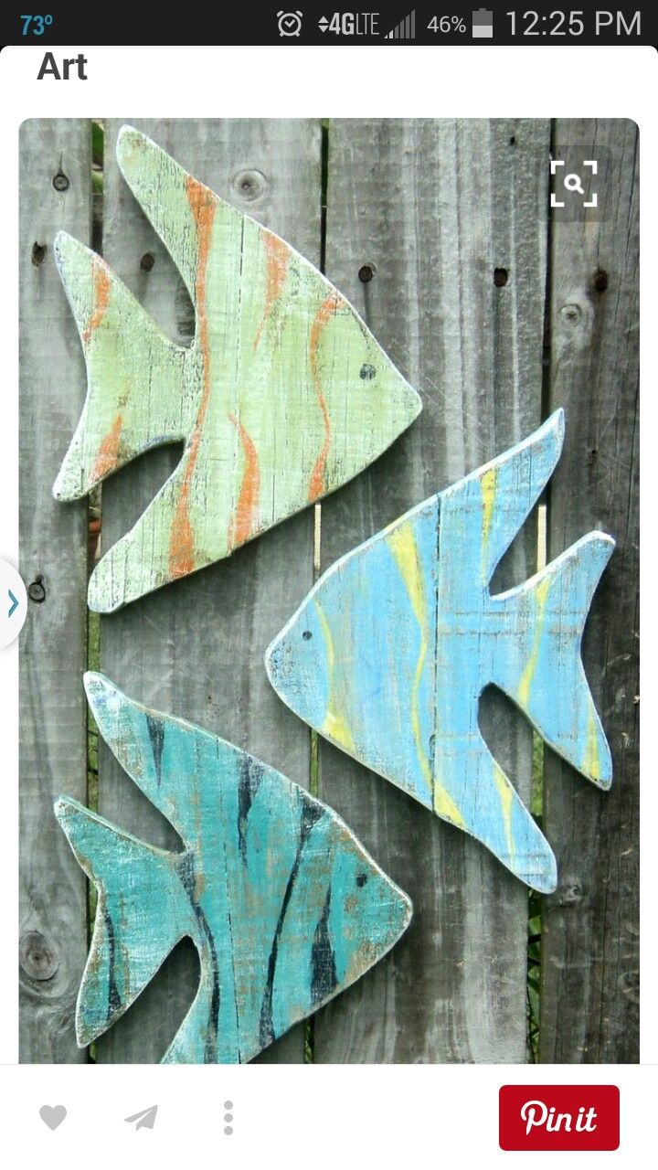 Pin By Kale Williams On Wood Fish Wall Decor Wooden Fish Fish
