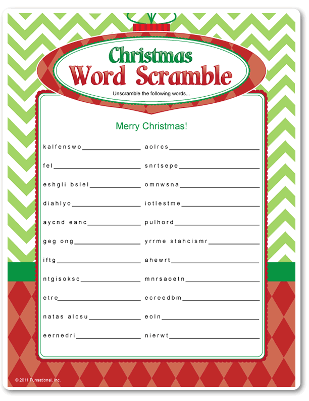 photo regarding Printable Christmas Games for Adults called Pin upon Family vacation game titles