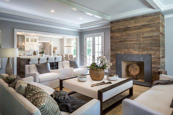 moderne-wohnzimmer-klassisch-einrichten-feuerstelle-holzverkleidung ...