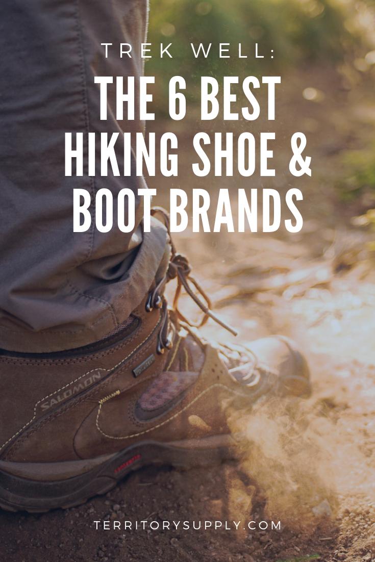 best hiking boot companies