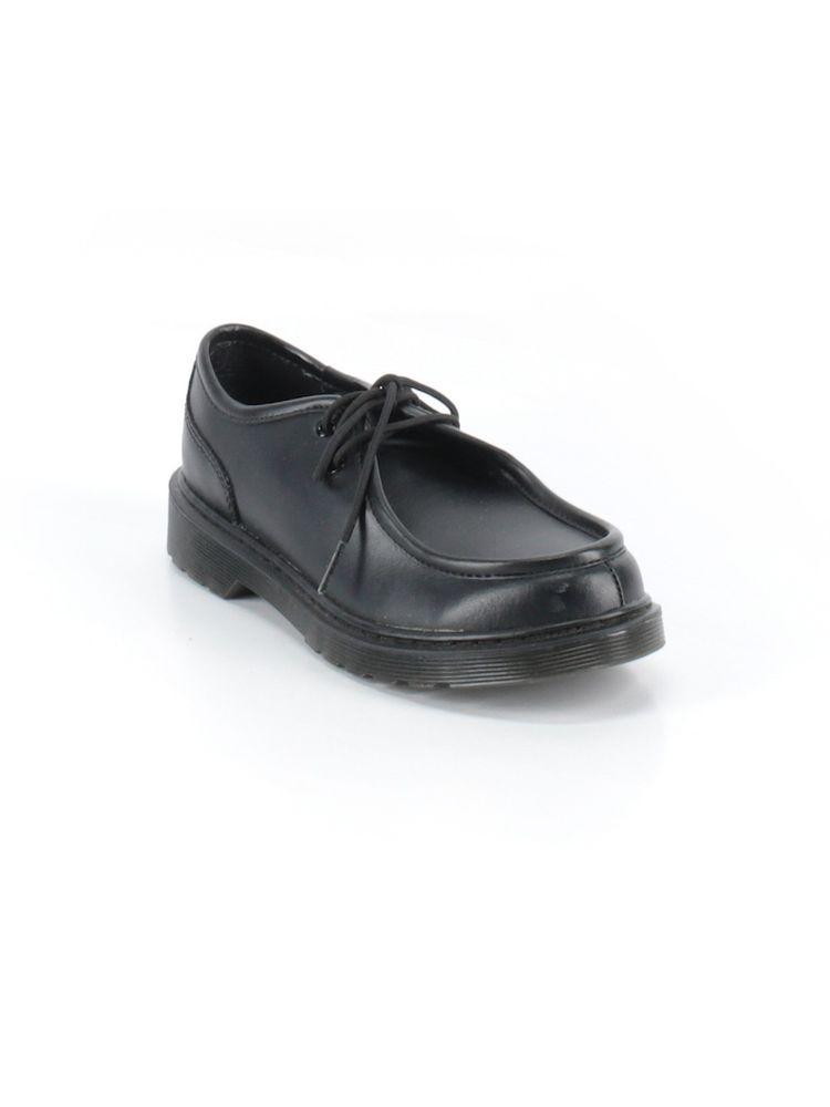 Boys Kids Dr Martens Hambleton Junior Black Leather School Shoe Size 5   DrMartens  SchoolShoes 43769a22d