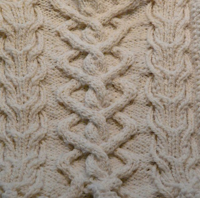 SA-03 Sampler Aran Afghan pattern by Tammy Eigeman Thompson | Pinterest