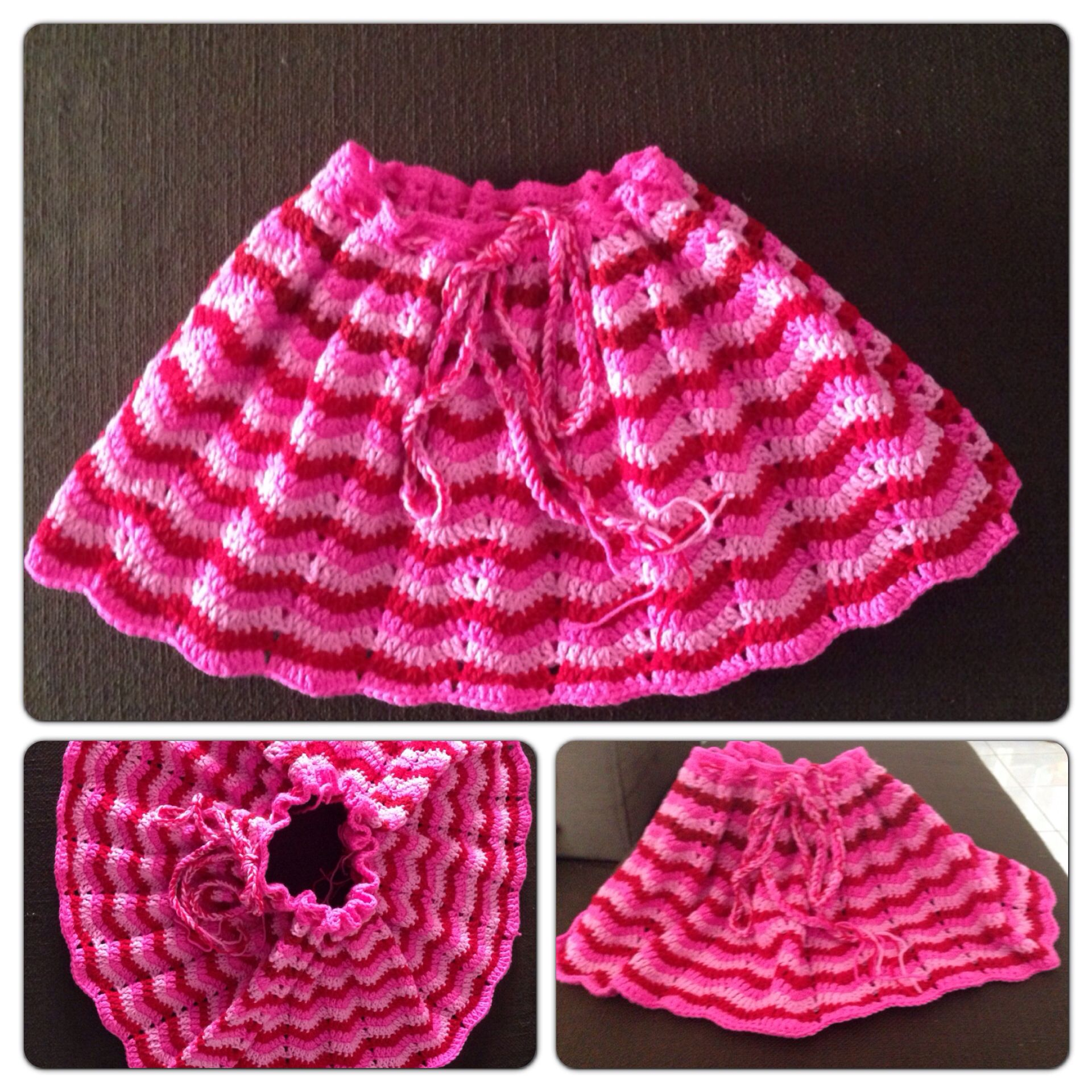 Crochet wave pattern adult poncho cum toddler skirt my crochet crochet wave pattern adult poncho cum toddler skirt dt1010fo