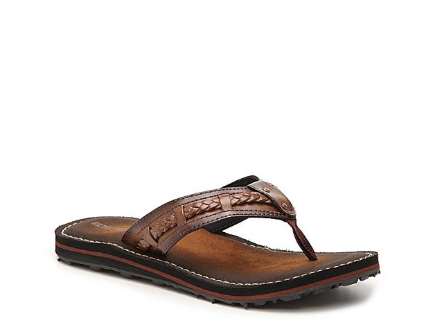 Women Fenner Nerice Flip Flop -Dark Brown